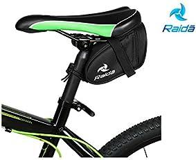 Raida A-Series Bicycle Strap-On Saddle Bag (Black)