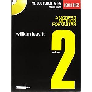 Metodo moderno per chitarra vol. 2 con CD Traduzione italiana