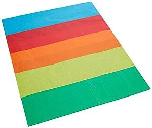 Interdruk Papel crepé BIGBLEKOL Kolor 70 x 50 cm, Mezcla de Kolorów