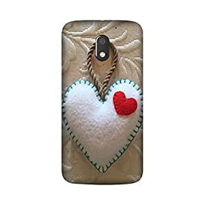 Yashas High Quality Designer Printed Case & Cover for Moto G4 Play (Heart)