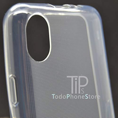 b0576e973db Todo Phone Store Lote x2 [1 Cristal ESTANDAR + 1 Funda 100% Transparente]