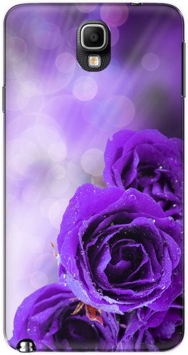 The Racoon Lean printed designer hard back mobile phone case cover for Samsung Galaxy Note 3 Neo. (dewy petal)  available at amazon for Rs.99