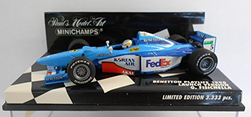 1/43 Benetton Playlife 1998 Launch Version G. Fisichella