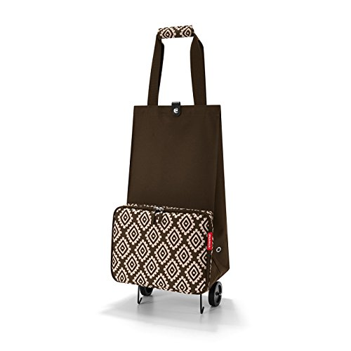reisenthel foldabletrolley Diamonds Mocha Maße: 29 x 66 x 27 cm/Volumen: 30 l