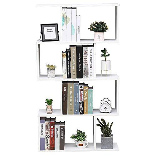 Librería Estante Blanco Oficina Moderna Contemporáneo