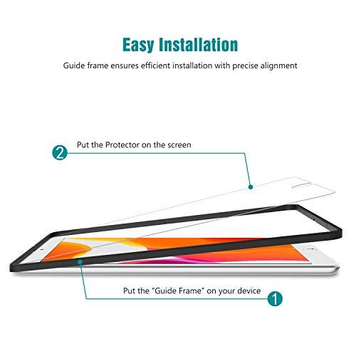 apiker [3 Packs Protector Pantalla Tablet Compatible con iPad 10.2 2019 A2197 A2198 A2200 (7.ª generación),  Cristal Templado Tablet Premium [9H Dureza] [Alta Definición]