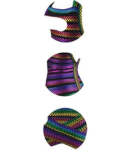 Whoinshop Damen Rayon V-Ausschnitt Bodycon Kleid Partykleid Cocktailkleid Bandage Kleider Lila