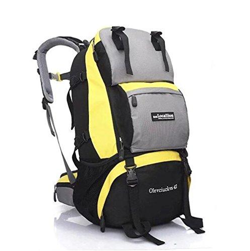 Wmshpeds Moda tempo libero pacchetto fitness gli uomini e le donne all'aperto in funzione off-road package Arrampicata Cavalcare borsa a tracolla C