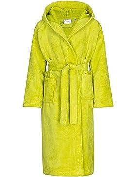 Sistema de línea-Naturelle albornoz infantil con capucha, 100% algodón, verde, 176