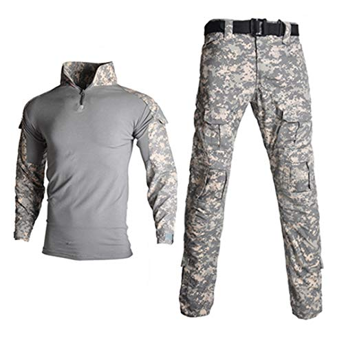 JUNSHIFU Man Tactical Camouflage Uniform Kleidung Anzug Kleidung Sets ACU L -