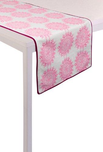 PAD Tischläufer rosa Größe 45x145 cm