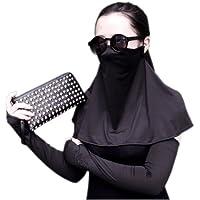 Beliebte UV-Schutz Nackenschutz atmungsaktiv Gesichtsmaske, Schwarz preisvergleich bei billige-tabletten.eu