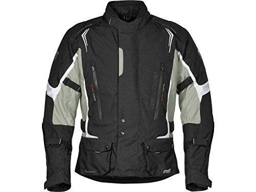 Germot RAVENNA II Motorrad Textiljacke Schw Grau, 3585007, Größe 3XL