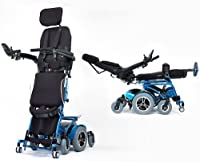 Draco Standing Power Wheelchair (30km Range) Fully Reclining Electric Mobility Stand-up Motorized Wheel Chair Fully Powered Standing 2 Year Warranty