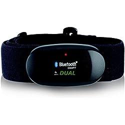 BLUETOOTH 4,0 y ANT correa para el pecho para RUNTASTIC, WAHOO, App STRAVA, para iPhone 4S/5/5C/5S/6/6 +, medidor de frecuencia cardíaca