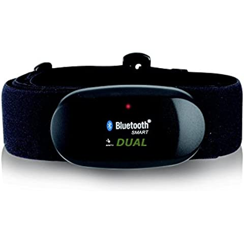 BLUETOOTH 4,0 y ANT correa para el pecho para RUNTASTIC, WAHOO, App STRAVA, para iPhone 4S/5/5C/5S/6/6 +, medidor de frecuencia