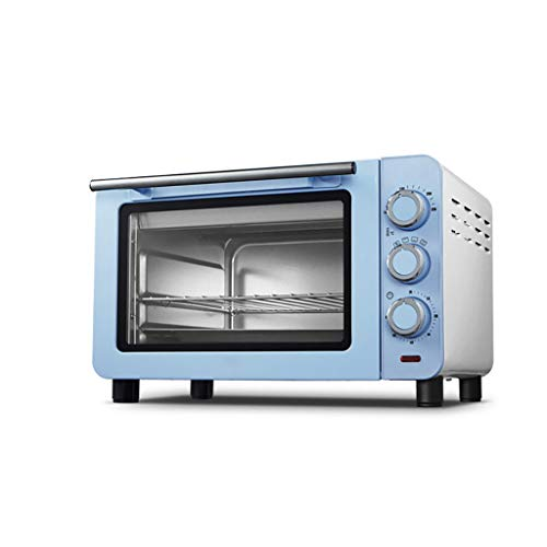 ZXYZZ Fully Automatic Small Oven Safe High Can Do Roast Chicken Pizza Electric Oven Blue Home Baking Multifunction,Blue