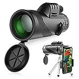 Téléscope Monoculaire, innislink 12X50 Monoculaire Puissant HD Longue-vues Télescop Imperméable...