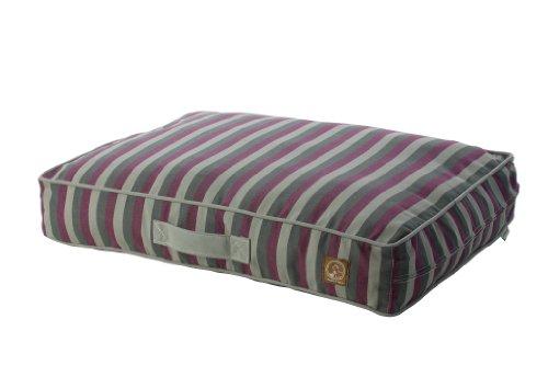 Siesta Streifen (One für Haustiere Siesta Indoor-/Outdoor Pet Bed Bettbezug, groß, Lila Streifen)