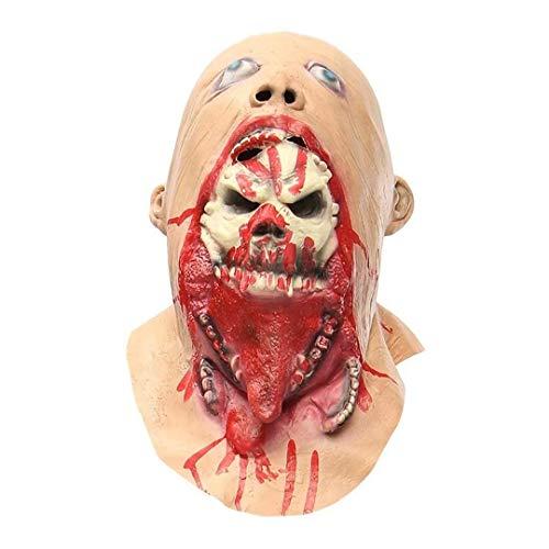 Themen Batman Familie Kostüm - Xiao-masken Maske Maskerade Prom Maske Halloween Latex Blutige Maske Zombie Gesicht Schmelzen Kostüm Party Prop