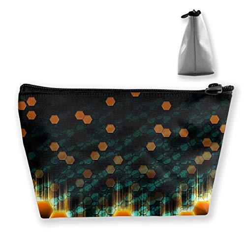 Kosmetiktasche Trapez Aufbewahrungstasche Point Light Bright Tragbare Kosmetiktasche Damen Mobile Reisetasche Mobile Point