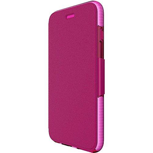 Tech21Impact Shield Self Heal Film de protection d'écran autocicatrisant résistant aux chocs anti-chocs pour Samsung LG G5–Transparent Rose