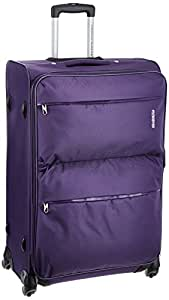 American Tourister A.T. Velocity Sp Polyester 77 cms Purple Softsided Suitcase (90X (0) 50 103)