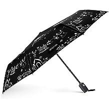 Paraguas Automático de Viaje OMOTON Paraguas Plegable Automático con 8 Varillas,Un Paraguas Mágico
