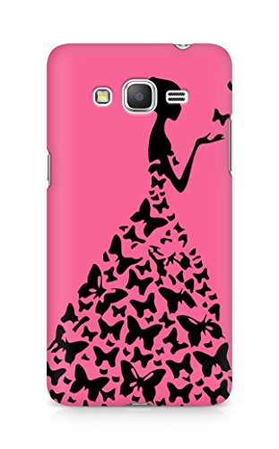 AMEZ designer printed 3d premium high quality back case cover for Samsung Galaxy Grand Prime (cute pink girl princess)  available at amazon for Rs.199