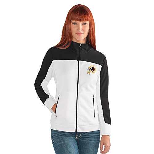 NFL Damen Play Maker Track Jacket, Damen, Play Maker Track Jacket, weiß, X-Large
