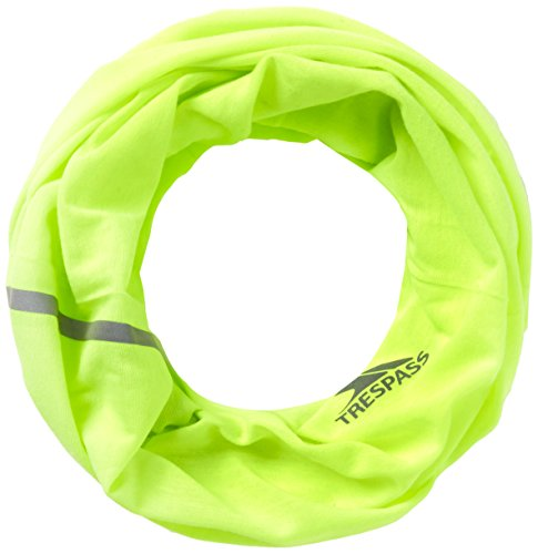 Trespass-giacca quay scaldacollo, uomo, quay, hi visibility yellow, taglia unica