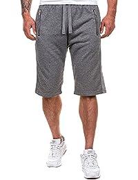 MODCHOK Homme Shorts Bermuda Pantacourt Sport Jogging Poches Casual  Décontracté 1db99057560