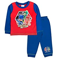 PJ MASKS Boys Official Catboy Gekko Owlette Action Pyjamas Sizes From 18 Months To 5 Years