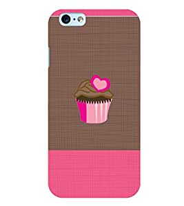 Citydreamz Cupcakes/Muffins/Love/Chocolate/Date Hard Polycarbonate Designer Back Case Cover For Apple Iphone 6 Plus/6S Plus