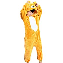kigurumi pigiami animali da bimbi bambini tuta costume carnevale Halloween festa cosplay unisex