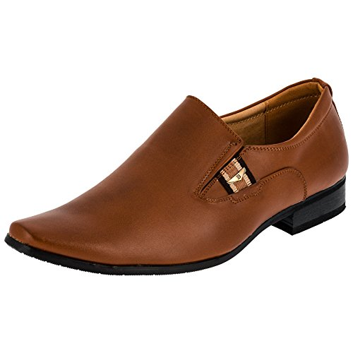 Herren Business Slipper, innen Leder, 2 Farben #691Braun