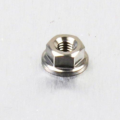 Titanium Flanged Nut M3 x 0.5mm