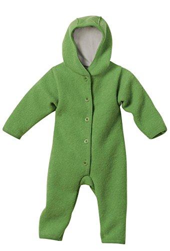 Disana Baby Walkoverall aus Bio Schurwolle kbT (50/56, grün)