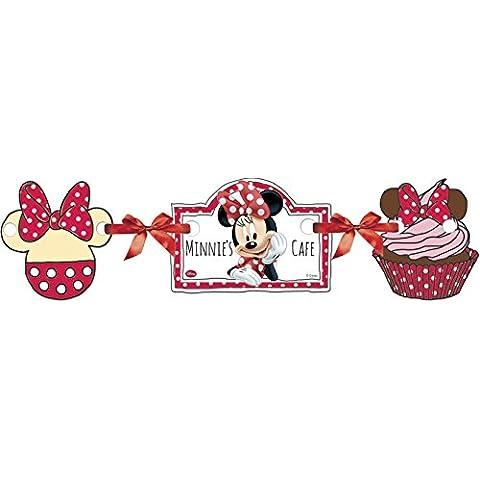 Cadena Fiesta * MINNIE RATÓN Y MARGARITA * para el cumpleaños niños cumpleaños // niños decoración del partido Minnie Mouse Papel Banner