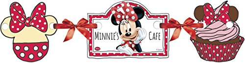 (Disney 1.1 M Café Minnie Mouse Party Banner)