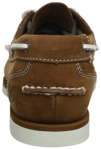 Timberland Classic Boat Unlined Boatmedium Brown Barefoot Buffed  Women   s Boat Shoes  Brown  Medium Brown Barefoot Buffed   5 5 UK  38 5 EU