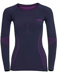 5eaf8c0e062 ODLO Women's Shirt L/S Crew Neck Evolution Warm Underwear
