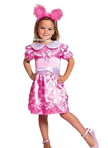 Folat 63200 -Kleid mit Punkten, Größe S, rosa