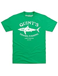 Quint's Shark Fishing T-shirt, Pour homme