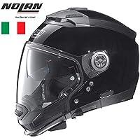 toukui Casco De La Motocicleta Harley Material De Fibra De Carbono Cara Completa Casco Medio Casco