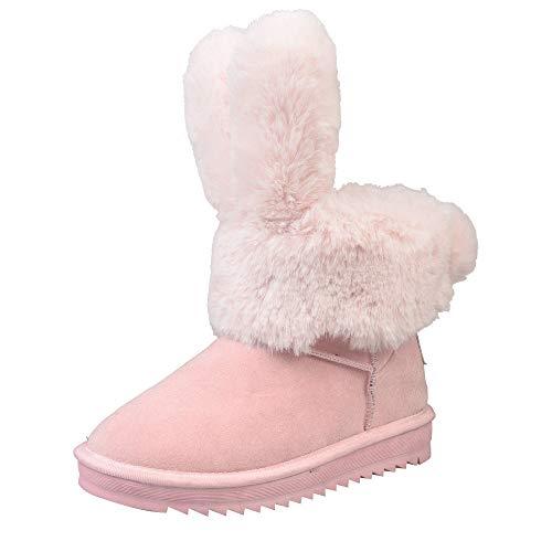 -20% Beikoard Frauen Schneeschuhe in der Röhre warme Rutschfeste Winter Baumwollschuhe Winterstiefel warme Schuhe Plüsch Ankle Snow Boot