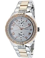 Guess Damen-Armbanduhr XS Analog Edelstahl W15065L2