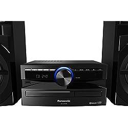 Panasonic SC-UX100E-K Mini chaine pour Sonoriser toutes vos Soirées Noir