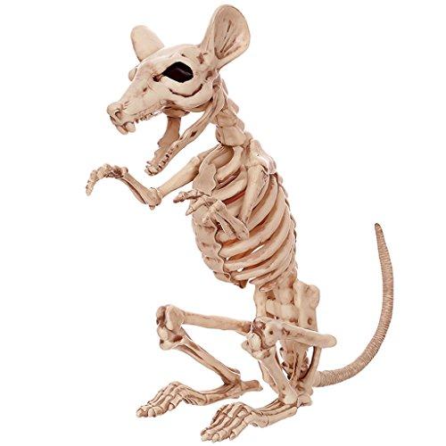 (CKH Urlaub Dekorationen Geisterhaus Bar Requisiten Heikles Spielzeug Horror Lustige Ganze Menschliche Skelett Maus Skelett)
