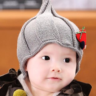27% OFF on Generic Gray   Korean Princess mother baby children Hat baby Hat  Beanie winter Elf child in autumn and winter hats for boy and girls on  Amazon ... 0d01b57d035